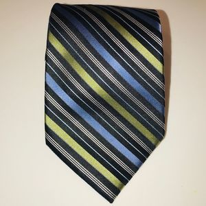 CLAIBORNE Men's Silk Striped Tie